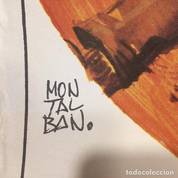 Cine: Cartelera de cine original Todo el horizonte para morir (1974) Firmado por el grafista Montalvo par - Foto 2 - 146262601