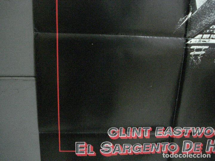 Cine: CDO 1003 EL SARGENTO DE HIERRO CLINT EASTWOOD POSTER ORIGINAL 70X100 ESTRENO - Foto 4 - 198416027