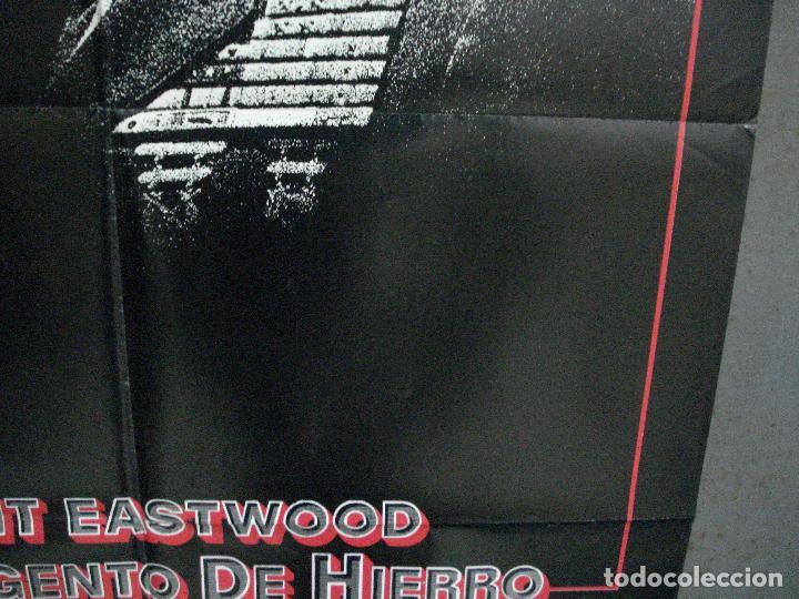 Cine: CDO 1003 EL SARGENTO DE HIERRO CLINT EASTWOOD POSTER ORIGINAL 70X100 ESTRENO - Foto 8 - 198416027