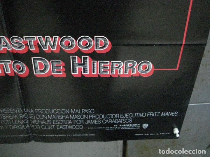 Cine: CDO 1003 EL SARGENTO DE HIERRO CLINT EASTWOOD POSTER ORIGINAL 70X100 ESTRENO - Foto 9 - 198416027