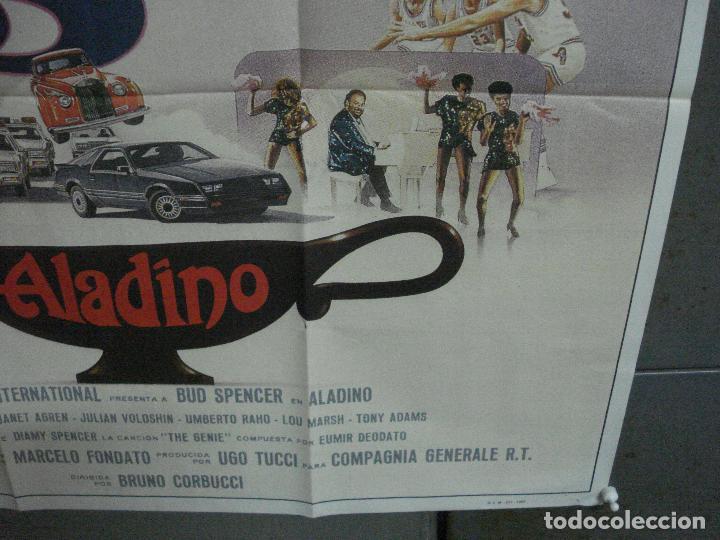 Cine: CDO 1009 ALADINO BUD SPENCER JANET AGREN BRUNO CORBUCCI POSTER ORIGINAL 70X100 ESTRENO - Foto 7 - 198417278