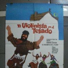 Cine: CDO 1014 EL VIOLINISTA EN EL TEJADO TOPOL POSTER ORIGINAL 70X100 ESTRENO. Lote 198418058