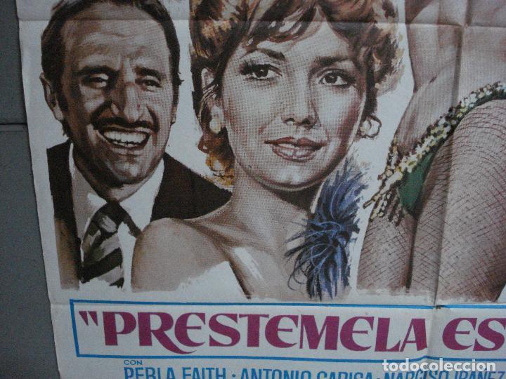 Cine: CDO 1018 PRESTAMELA ESTA NOCHE MANOLO ESCOBAR ANTONIO GARISA POSTER ORIGINAL 70X100 ESTRENO - Foto 4 - 198419581