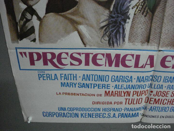 Cine: CDO 1018 PRESTAMELA ESTA NOCHE MANOLO ESCOBAR ANTONIO GARISA POSTER ORIGINAL 70X100 ESTRENO - Foto 5 - 198419581