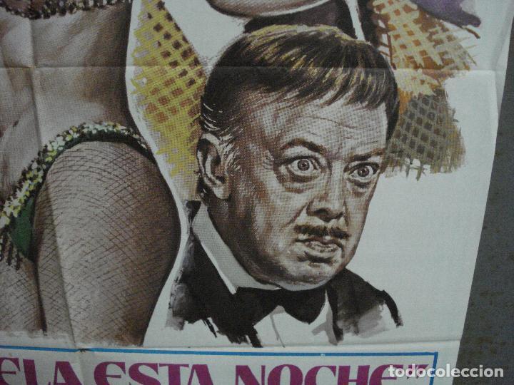 Cine: CDO 1018 PRESTAMELA ESTA NOCHE MANOLO ESCOBAR ANTONIO GARISA POSTER ORIGINAL 70X100 ESTRENO - Foto 8 - 198419581