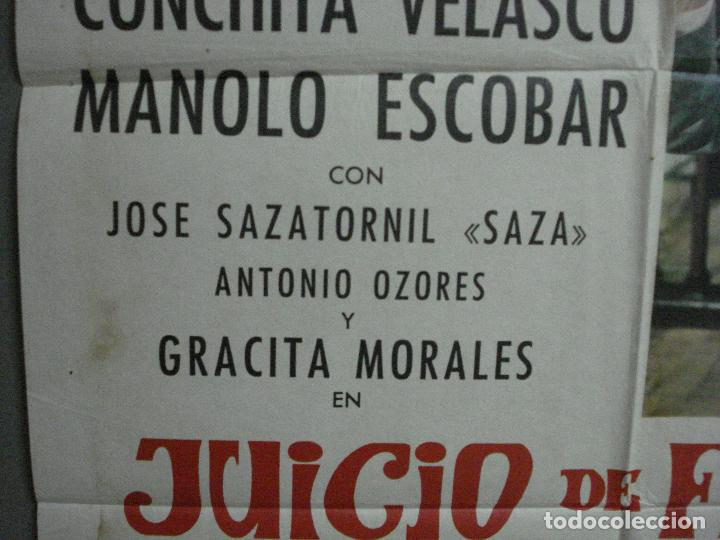 Cine: CDO 1023 JUICIO DE FALDAS MANOLO ESCOBAR CONCHA VELASCO POSTER ORIGINAL 70X100 ESTRENO - Foto 3 - 198420400