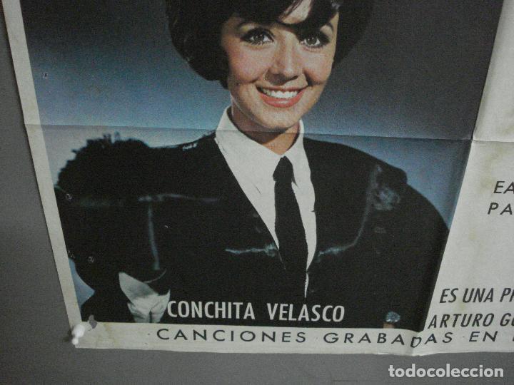 Cine: CDO 1023 JUICIO DE FALDAS MANOLO ESCOBAR CONCHA VELASCO POSTER ORIGINAL 70X100 ESTRENO - Foto 5 - 198420400