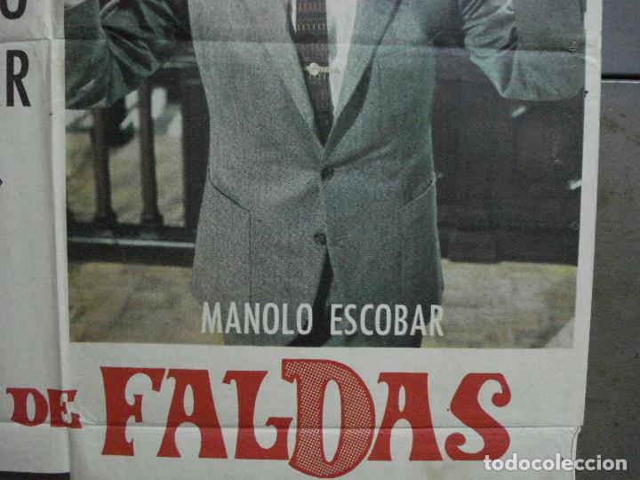 Cine: CDO 1023 JUICIO DE FALDAS MANOLO ESCOBAR CONCHA VELASCO POSTER ORIGINAL 70X100 ESTRENO - Foto 7 - 198420400