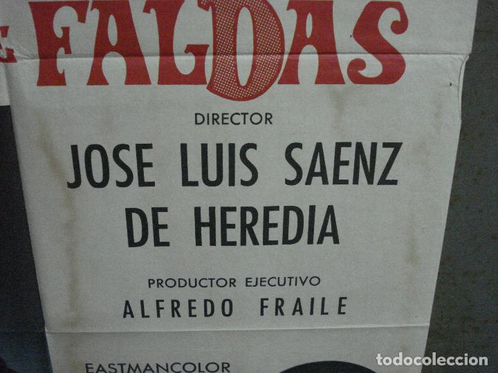 Cine: CDO 1023 JUICIO DE FALDAS MANOLO ESCOBAR CONCHA VELASCO POSTER ORIGINAL 70X100 ESTRENO - Foto 8 - 198420400