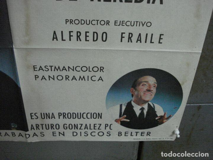 Cine: CDO 1023 JUICIO DE FALDAS MANOLO ESCOBAR CONCHA VELASCO POSTER ORIGINAL 70X100 ESTRENO - Foto 9 - 198420400