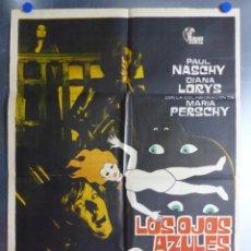 Cine: LOS OJOS AZULES DE LA MUÑECA ROTA, PAUL NASCHY, DIANA LORYS, MARIA PERSCHY - AÑO 1973. Lote 198457947