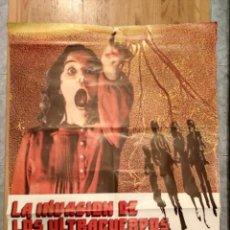 Cine: PÓSTER LA INVASIÓN DE LOS ULTRACUERPOS. Lote 198550883