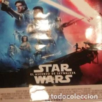 Cine: Star Wars el ascenso de skaywalker medida : 68 anchura y 98 altura cm . Original del cine - Foto 2 - 198668666