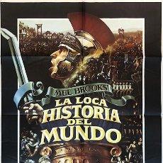 Cine: CARTEL ORIGINAL LA LOCA HISTORIA DEL MUNDO . MEL BOOKS . AÑO 1981. Lote 198713248