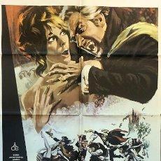 Cine: CARTEL ORIGINAL EL BAILE DE LOS VAMPIROS . ROMAN POLANSKI . AÑO 1979. Lote 198715200