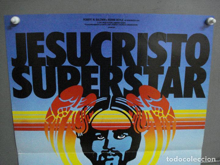Cine: CDO 1048 JESUCRISTO SUPERSTAR JAIME AZPILICUETA PABLO ABRARIA ESTIBALIZ POSTER ORIGINAL TEATRO - Foto 2 - 198776416