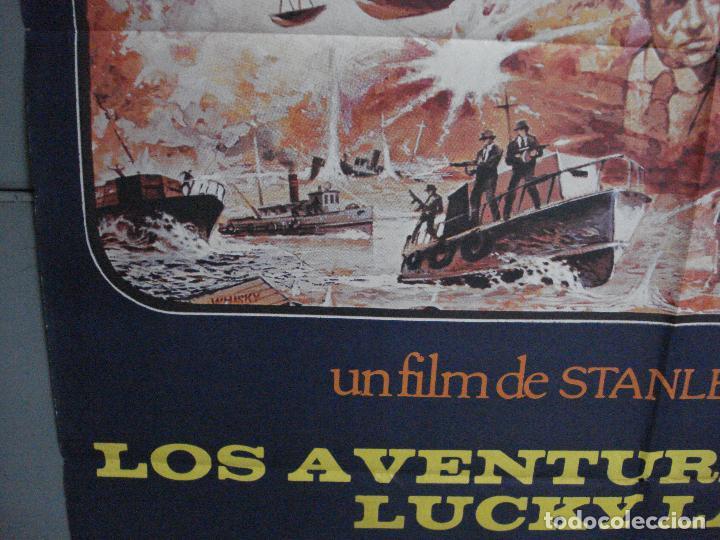 Cine: CDO 1052 LOS AVENTUREROS DE LUCKY LADY LIZA MINNELLI BURT REYNOLDS DONEN POSTER ORIG 70X100 ESTRENO - Foto 4 - 198778513
