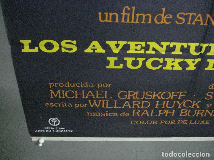 Cine: CDO 1052 LOS AVENTUREROS DE LUCKY LADY LIZA MINNELLI BURT REYNOLDS DONEN POSTER ORIG 70X100 ESTRENO - Foto 5 - 198778513