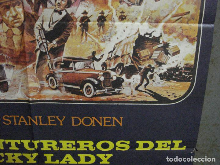Cine: CDO 1052 LOS AVENTUREROS DE LUCKY LADY LIZA MINNELLI BURT REYNOLDS DONEN POSTER ORIG 70X100 ESTRENO - Foto 8 - 198778513