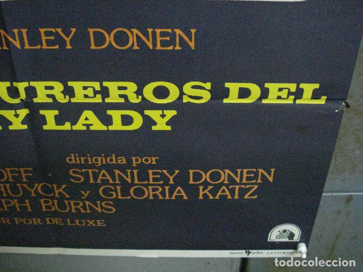 Cine: CDO 1052 LOS AVENTUREROS DE LUCKY LADY LIZA MINNELLI BURT REYNOLDS DONEN POSTER ORIG 70X100 ESTRENO - Foto 9 - 198778513