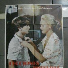 Cine: CDO 1070 LECCIONES PRIVADAS CARROLL BAKER POSTER ORIGINAL 70X100 ESTRENO. Lote 198788457