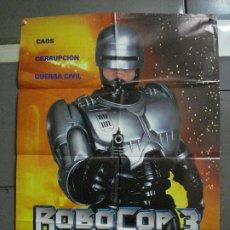 Cine: CDO 1072 ROBOCOP 3 FRED DEKKER ROBERT BURKE POSTER ORIGINAL 70X100 ESTRENO. Lote 198789992