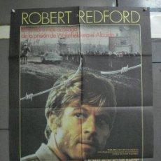 Cine: CDO 1086 BRUBAKER ROBERT REDFORD POSTER ORIGINAL 70X100 ESTRENO. Lote 198805437