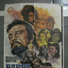 Cine: CDO 1091 BARBA AZUL RICHARD BURTON VIRNA LISI RAQUEL WELCH POSTER ORIGINAL 70X100 ESTRENO. Lote 198806593
