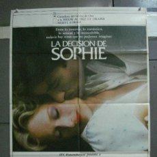 Cine: CDO 1103 LA DECISION DE SOPHIE MERYL STREEP POSTER ORIGINAL 70X100 ESTRENO. Lote 198841290