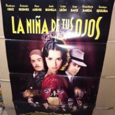 Cine: LA NIÑA DE TUS OJOS FERNANDO TRUEBA POSTER ORIGINAL 70X100 Q. Lote 198943171