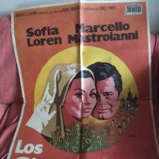 Cine: CARTEL ORIGINAL DE CINE LOS GIRASOLES. Lote 198950050