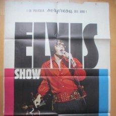 Cine: CARTEL CINE ELVIS SHOW ASI ES COMO ES ELVIS PRESLEY 1971 C1772. Lote 198996007