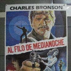 Cine: CDO 1134 AL FILO DE MEDIANOCHE CHARLES BRONSON MATAIX POSTER ORIGINAL 70X100 ESTRENO. Lote 199000903