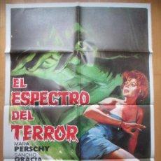 Cine: CARTEL CINE EL ESPECTRO DEL TERROR MARIA PERSCHY SANCHO GRACIA 1972 JANO C1778. Lote 199003148