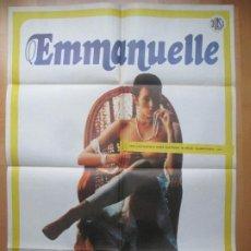 Cine: CARTEL CINE EMMANUELLE SYLVIA KRISTEL C1803. Lote 199037207