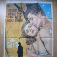 Cine: CARTEL CINE LOS HIJOS DEL AMOR JEAN CLAUDE PASCAL VALENTINE TESSIER 1955 C1824. Lote 199051240