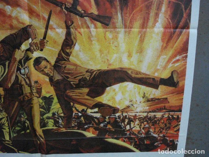 Cine: CDO 1210 EMBOSCADA EN LA BAHIA MICKEY ROONEY HUGH OBRIAN JAMES MITCHUM POSTER ORIG 70X100 ESTRENO - Foto 8 - 199467172