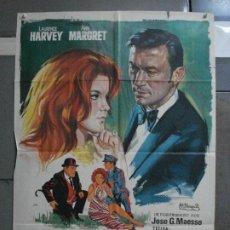 Cine: CDO 1212 EL CRIMEN TAMBIEN JUEGA ANN-MARGRET LAURENCE HARVEY JANO POSTER ORIGINAL 70X100 ESTRENO. Lote 199472102