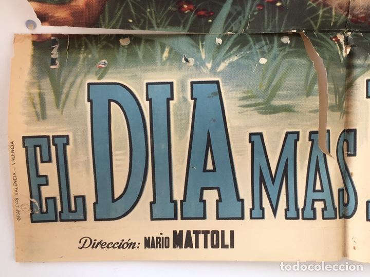 Cine: CDO 1239 EL DIA MAS BELLO ANTONELLA LUALDI POSTER ORIGINAL 70X100 ESTRENO - Foto 5 - 199660096