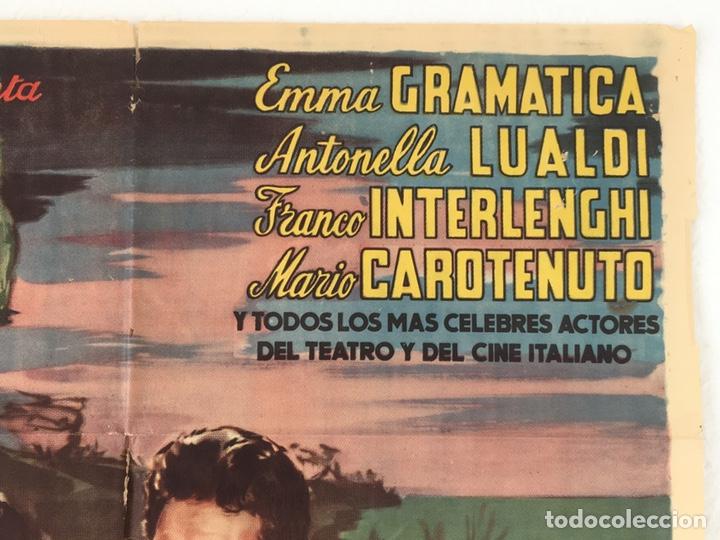 Cine: CDO 1239 EL DIA MAS BELLO ANTONELLA LUALDI POSTER ORIGINAL 70X100 ESTRENO - Foto 6 - 199660096