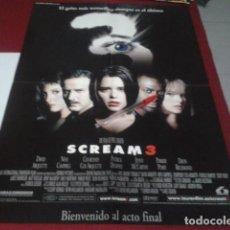 Cine: POSTER DOBLE 28 DIAS Y SCREAM 3 - TAMAÑO 4 X A4 - SANDRA BULLOCK - NEVE CAMPBELL COURTNEY COX WES . Lote 199682335