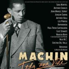 Cinema: CARTEL DE CINE ORIGINAL MACHIN TODA UNA VIDA // TAMAÑO 70X100 // . Lote 199683206
