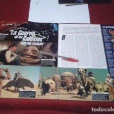Cine: POSTER 2 A4 PERSONAJES ( STAR WARS - LA GUERRA DE LAS GALAXIAS EDICIÓN ESPECIAL ). Lote 199683466