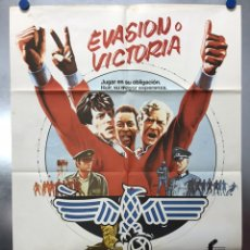 Cine: EVASION O VICTORIA, SYLVESTER STALLONE, MICHAEL CAINE, PELE - AÑO 1981. Lote 199705016