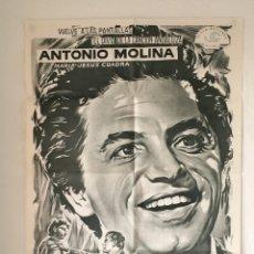 Cine: CDO 1254 LA HIJA DE JUAN SIMON ANTONIO MOLINA MAC POSTER ORIGINAL 70X100 ESPAÑOL R-80S. Lote 199742523