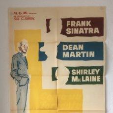 Cinéma: CDO 1258 COMO UN TORRENTE FRANK SINATRA DEAN MARTIN MACLAINE POSTER ORIGINAL 70X100 ESTRENO. Lote 199751986