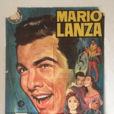 Cine: CDO 1260 EL GRAN CARUSO MARIO LANZA ANN BLYTH JANO POSTER ORIGINAL 70X100 ESPAÑOL R-70. Lote 199753753