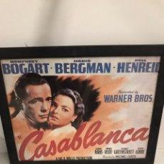 Cine: CARTEL DE CINE CASABLANCA. Lote 199832402