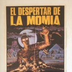 Cine: CDO 1286 EL DESPERTAR DE LA MOMIA FRANK AGRAMA TERROR POSTER ORIGINAL ESTRENO 70X100. Lote 199843613