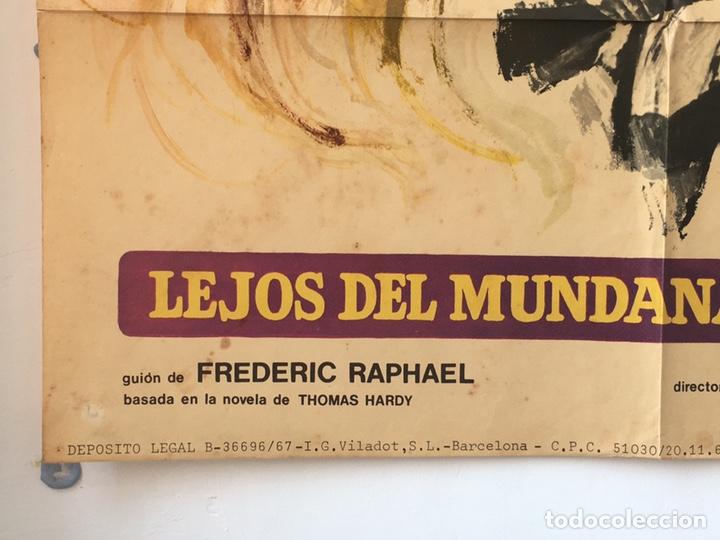 Cine: CDO 1289 LEJOS DEL MUNDANAL RUIDO JULIE CHRISTIE POSTER ORIGINAL 70X100 ESTRENO - Foto 5 - 199844885